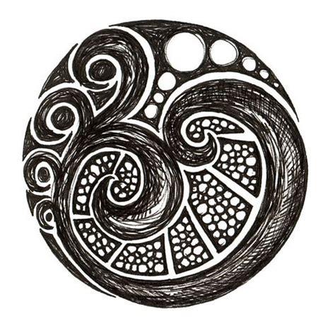 circle pattern tattoo tumblr 100 best maori art images on pinterest