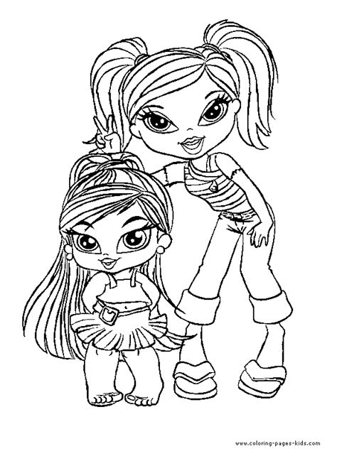 coloring pages for girl bratz bratz color page cartoon characters coloring pages color