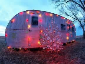 Lighting For Caravans Caravan In Lights Trees