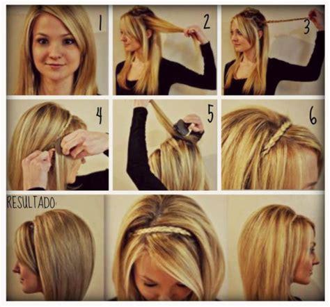 peinados con trenzas pelo suelto paso a paso www 105 peinados f 225 ciles y bonitos de mujer cabellos cortos y