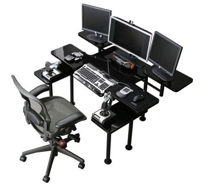Atlantic Gaming Desk Black 1000 Ideas About Gaming Desk On Pinterest Gaming Setup Gaming Chair And Desk Setup