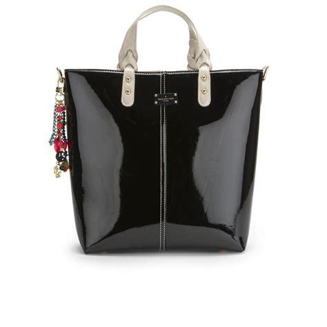 Large Patent Shopper Bag From Accessorize by Paul S Boutique Patent Shopper Bag Black