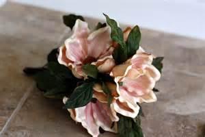 White Flower Bridal Bouquets - southern charm magnolia bridal bouquet