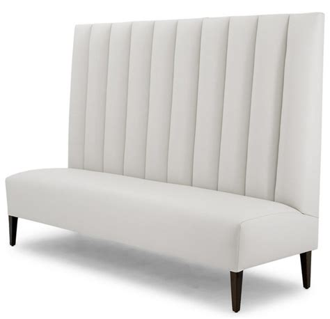 banquette sofa seating fluted banquette banquet seating the sofa chair company