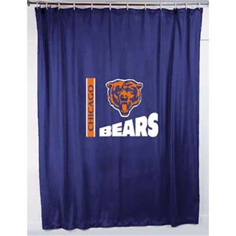locker curtains chicago bears locker room shower curtain
