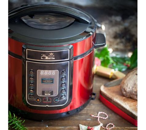 Oxone Ox1110 Professional Pressure Cooker 10 L buy pressure king pro digital pressure cooker free delivery currys