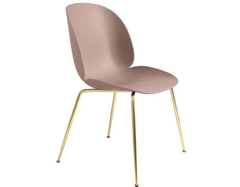 Dining Room Chair Seat Base Beetle Dining Chair With Conic Base Hivemodern