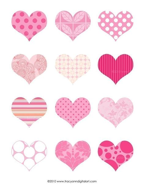 printable heart stickers free 9 best images of printable heart stickers free printable