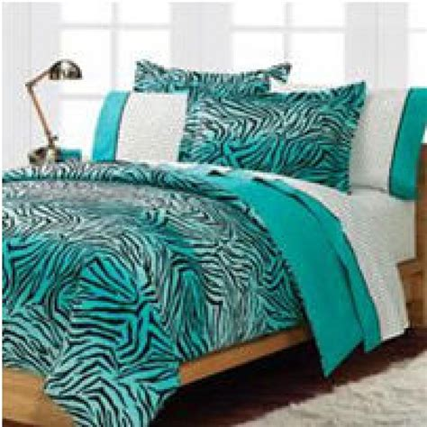 Turquoise And Black Zebra Bedding Bedding For New Bed Turquoise Bedding