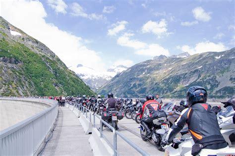 Motorradmesse Salzburg by Motorradsegnung Auf Der K 246 Lnbreinsperre