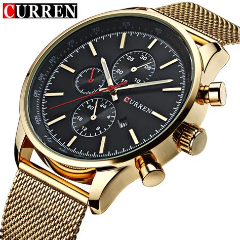 get cheap mens watches gold aliexpress