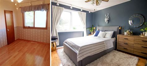 before after a small space bedroom makeover lonny my small bedroom makeover sabrina smelko loves you