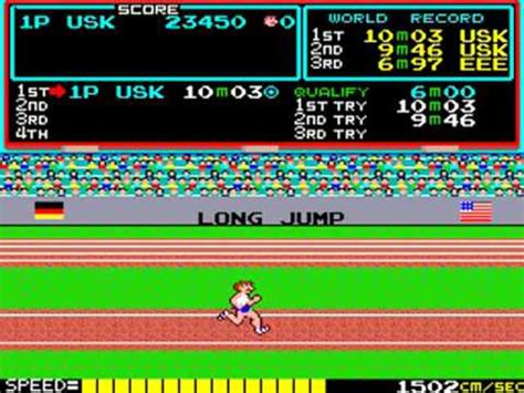 migliore console videogiochi videogiochi anni 80 90 track and field with con