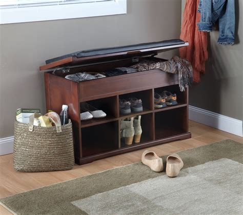 small entryway bench shoe storage small hallway shoe storage bench stabbedinback foyer