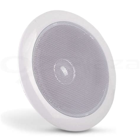 2 x 6 quot inch in ceiling wall speakers 80w pair home theatre