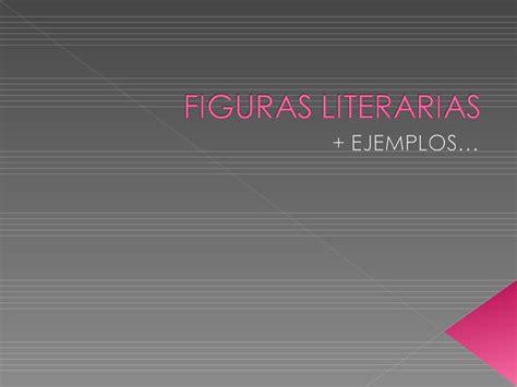 imagenes literarias o sensoriales figuras literarias slideshare figuras literarias ejemplos