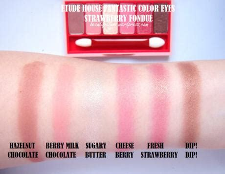 Etude House Berry Delicious Color In Fit Sle review swatches etude house berry delicious fantastic