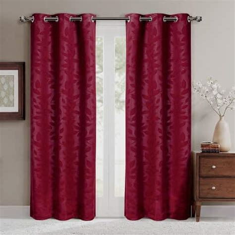 Impressive Room Darkening Curtains In 15 Impressive Burgundy Curtains For Living Room To Buy