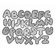 Alphabet Dr&244le De Coloriage Page Clipart Vectoriel