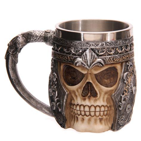 Crazy Cool Mugs caneca caveira guerreiro 12145 puckator pt