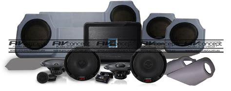 toyota  series dual cab landcruiser ute speaker solution