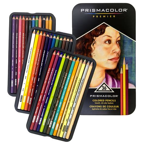 prismacolor colored pencils prismacolor 36 colored pencils premier soft color