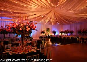 ceiling draping event pro