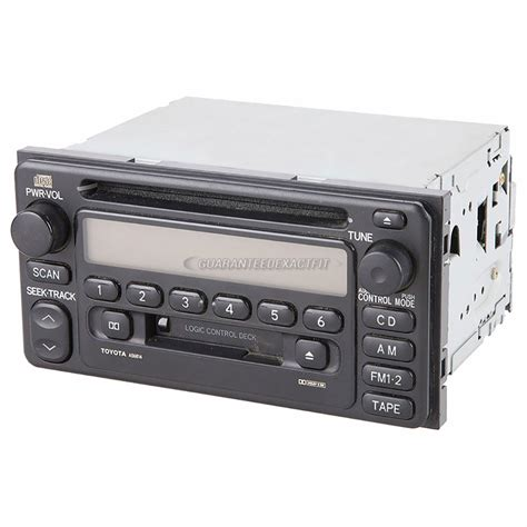 Toyota Radio Parts Toyota Echo Radio Or Cd Player Parts View Part
