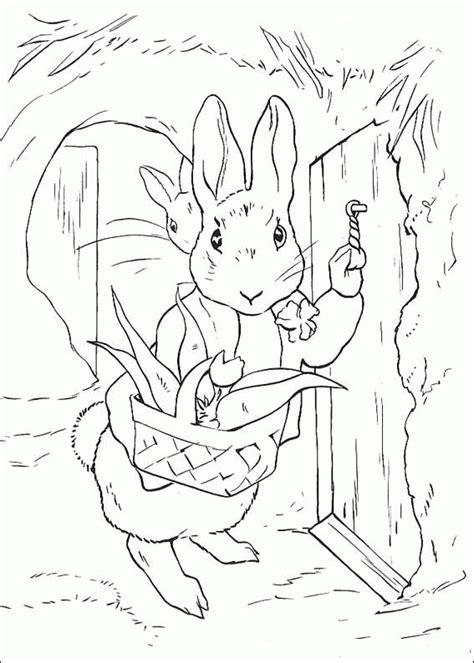 benjamin bunny coloring pages pierre lapin coloriages 224 imprimer colorier