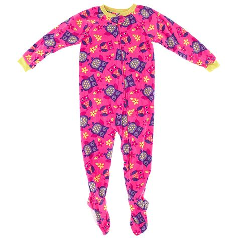 Footed Sleeper Pajamas by Pink Owl Footed Pajamas For