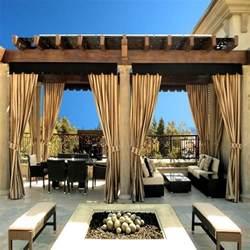 Curtains For Pergola Outdoor Curtains For Pergola Rooms