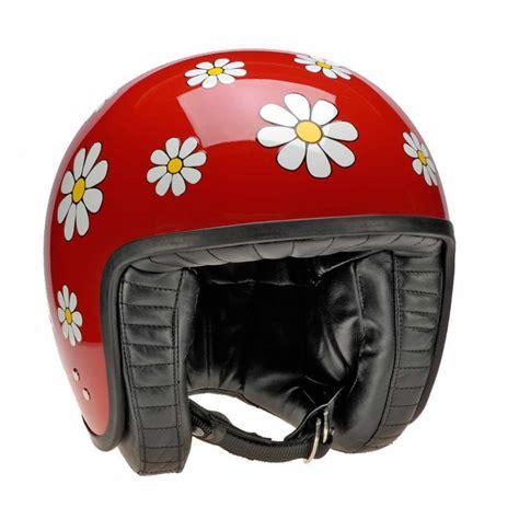 Motorradhelme Damen by Davida Damen Motorradhelm Jet Rot Mit Ece