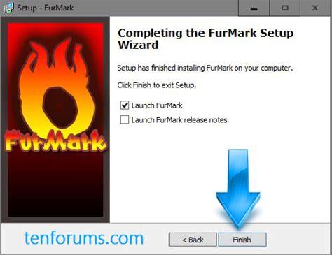 gpu stress test furmark gpu stress test windows 10 forums