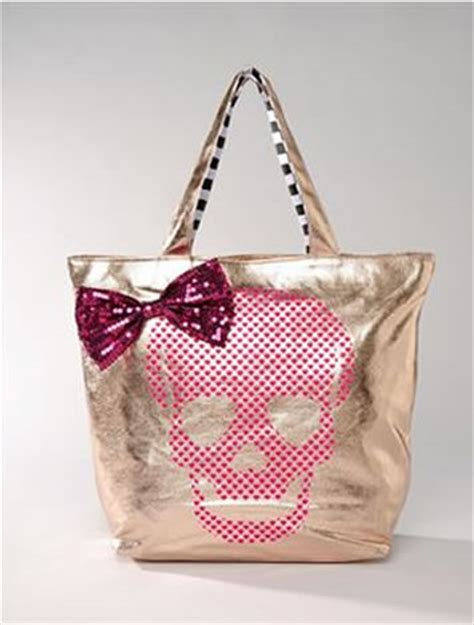 Betsey Johnson For Valentines Day Ebeautydaily The 2 by Betseyville By Betsey Johnson Skull Shopper Bag