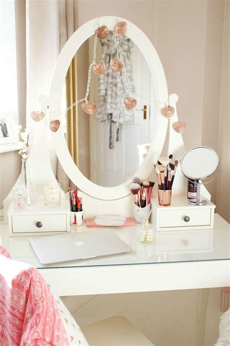 feminine bedroom hemnes dressing table how to style the ikea hemnes vanity table cliona hill