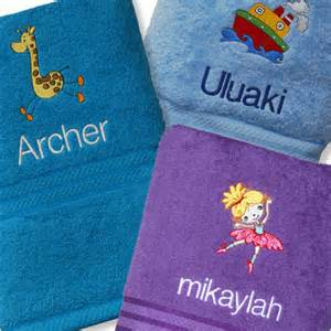 bath towels for toddlers embroidered personalised bath towels for adults