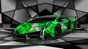 Neon Green Lamborghini Lamborghini Veneno Neon Green 2017 Ototrends Net
