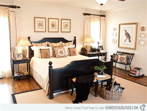 black furniture decorating ideas 15 pretty country inspired bedroom ideas home design lover