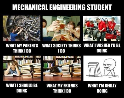 mechanical engineering student what think i do what only for engineers abhisays