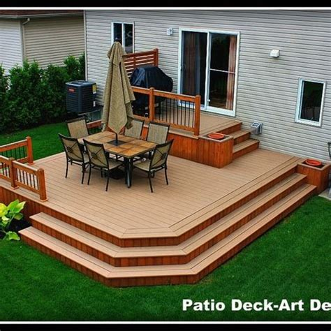 best 25 tiered deck ideas on two level deck