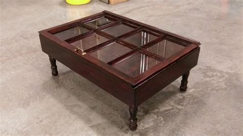 Shadow Box Coffee Table Wood Shadow Box Coffee Table Mahogany Shadow By Sandjbargainvault