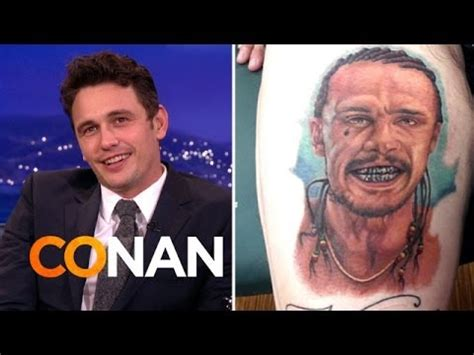 james franco tattoos franco is freaked out by fan tattoos