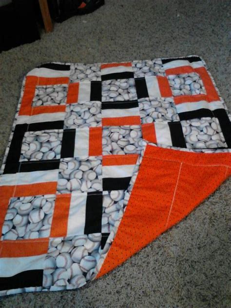 sewing pattern basketball jersey giants baseball quilt make it with royal blue a little