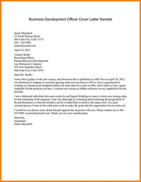 cover letter company profile sles corporate development cover letter sle