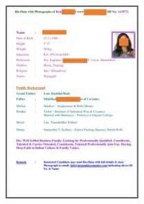 s biodata for matrimony 3 sle profile descriptions