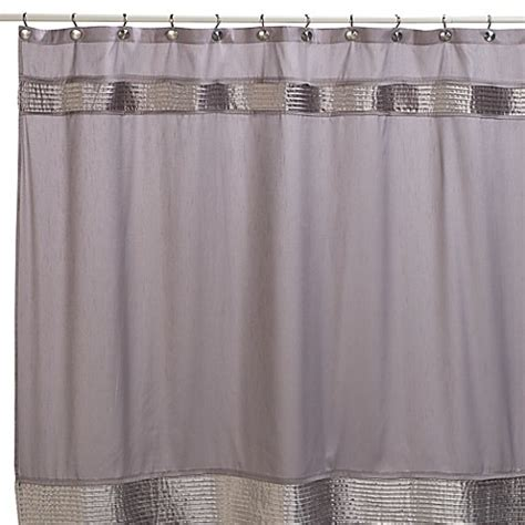 Gray Shower Curtains Fabric Willow 72 Inch X 72 Inch Fabric Shower Curtain In Grey Bed Bath Beyond
