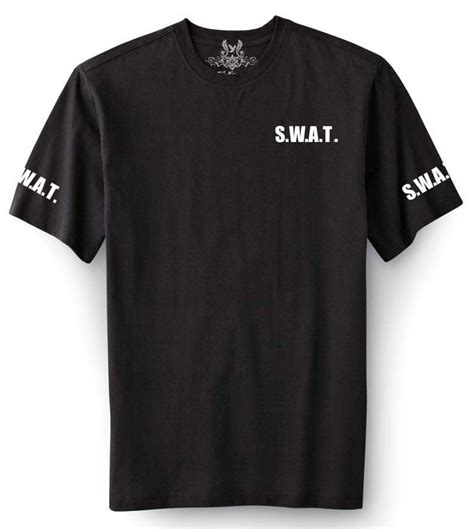 T Shirt S W A T nw mens printed quot s w a t quot swat team custom cotton