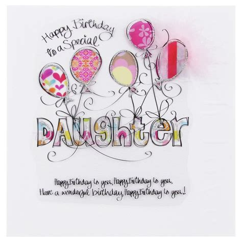 printable birthday cards for a daughter happy birthday cards for daughter wendy jones blackett