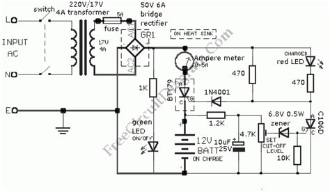 car charger wiring diagram car battery charger wiring