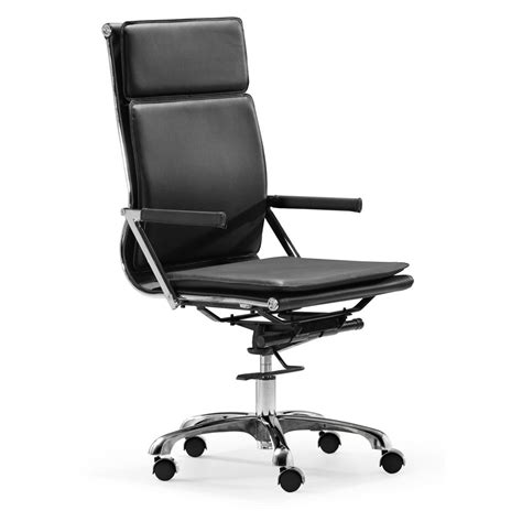 High Desk Chair by High Back Office Chair In White Z 232 Office Chairs